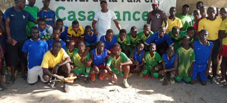 Fußball Qualifikationsspiele für das 8. Casamance Friedensfestival