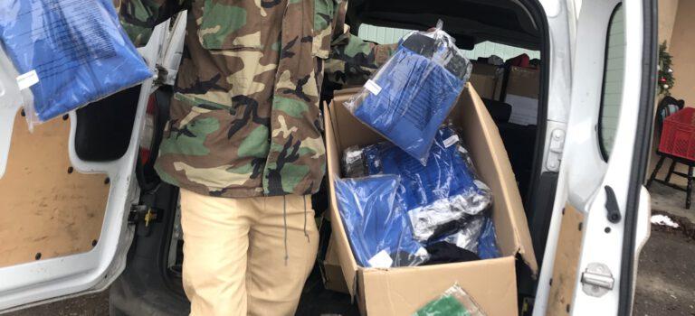T-Shirt Spenden von der Kleiderkammer Nebringen