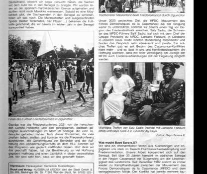 Neuer Artikel im Gemeindeboten Kusterdingen – Ausgabe vom 07.05.2021